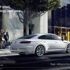 Arteon Marketing Kampagne - Offizielles Foto von Volkswagen