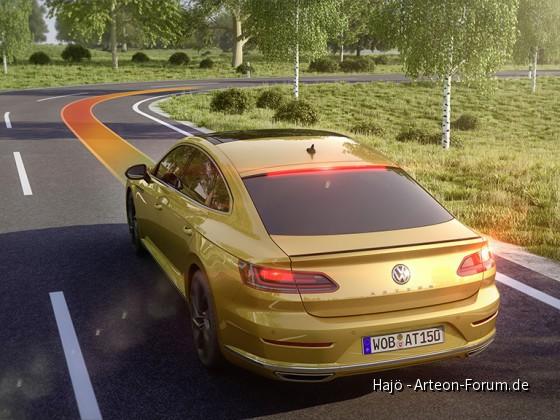 Automatische Distanzregelung ACC - Offizielles Foto von Volkswagen